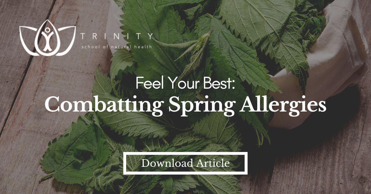 Ease Spring Allergies