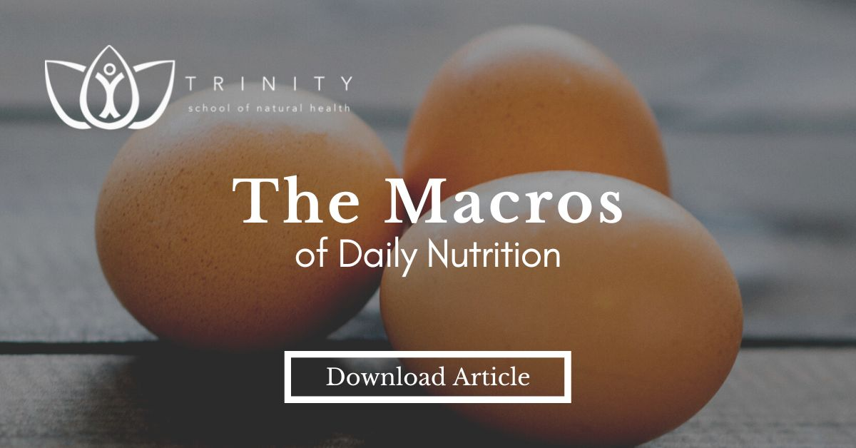 What can macronutrients do for you?