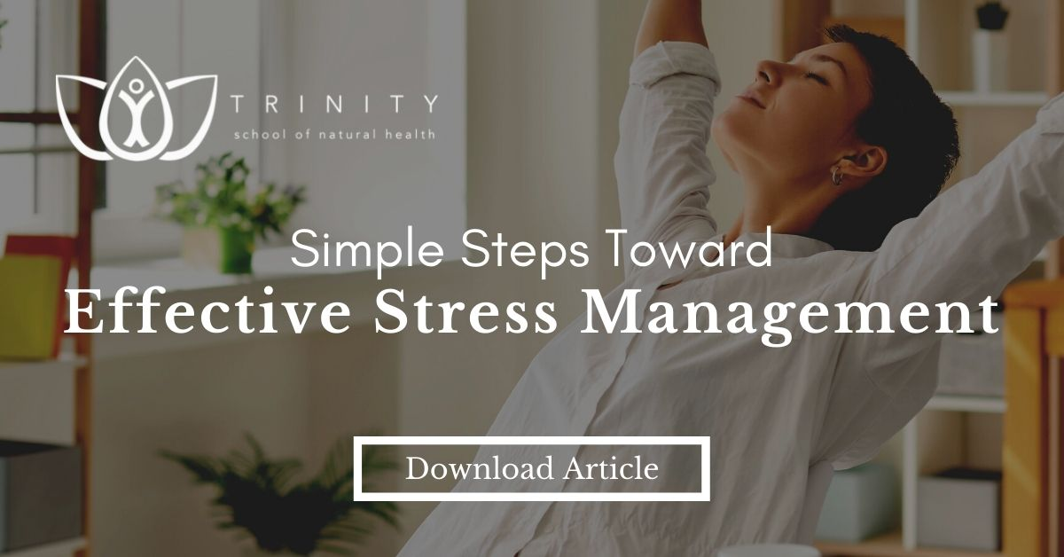 Simple Steps Toward Effective Stress Management