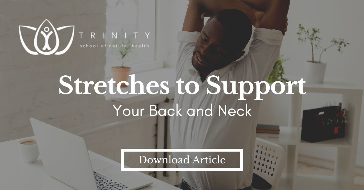 Stretches to Support Your Back & Neck